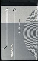 Заводской аккумулятор для Nokia 1661 (BL-4C, 890mah)