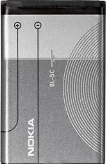 Заводской аккумулятор для Nokia 6270 (BL-5C, 1020mah)