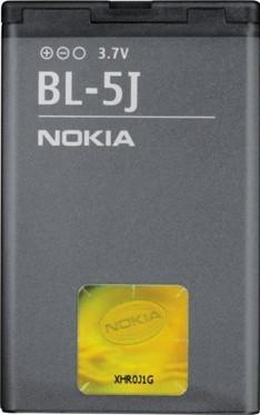 Заводской аккумулятор для Nokia X6 (BL-5J, 1320 mAh)