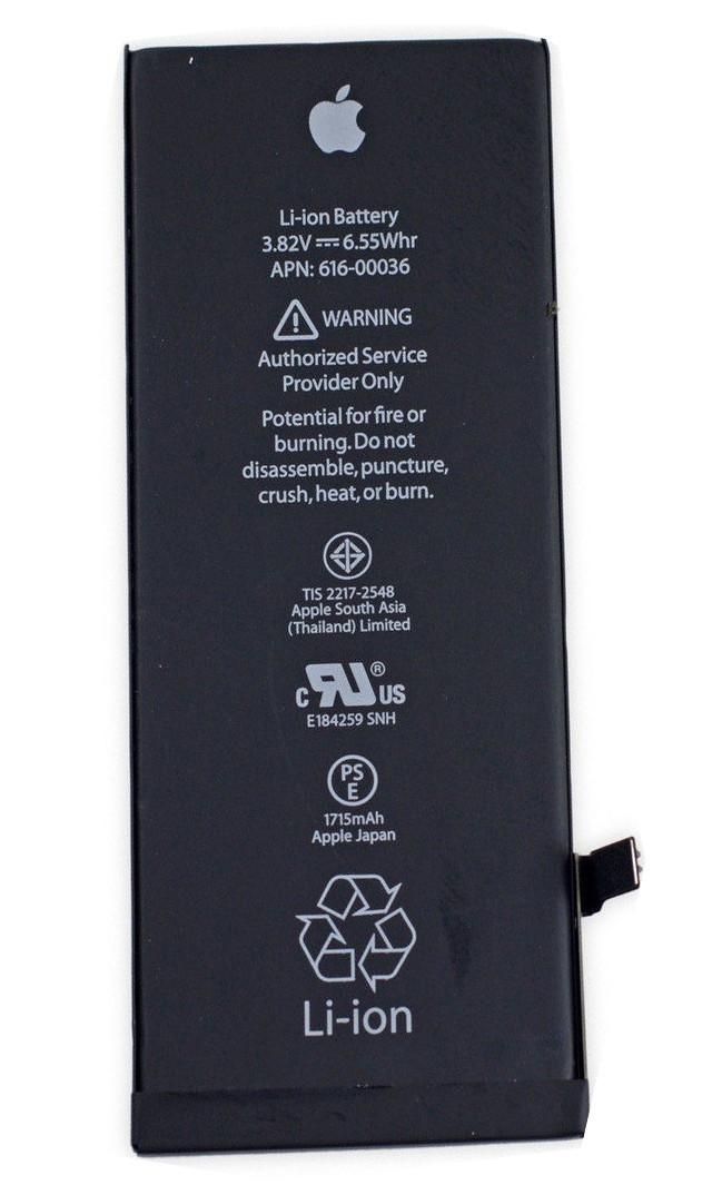 Заводской аккумулятор для Apple Iphone 6s (1715mah)