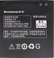 Заводской аккумулятор для Lenovo A670 (BL-204, 1700mAh)