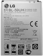 Заводской аккумулятор для LG F70 D315K (BL-59UH, 2440mAh)