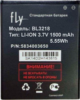 Заводской аккумулятор для Fly IQ400w Dynamic (BL3218, 1500 mah)