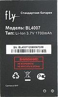 Заводской аккумулятор для Fly DS123 (BL4007, 1700 mah)