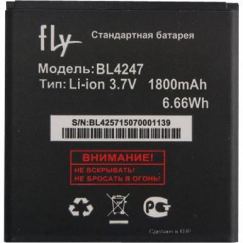 Заводской аккумулятор для Fly IQ448 (BL4247, 1600 mah)