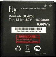Заводской аккумулятор для Fly IQ443 (BL4253, 1800 mah)