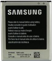 Заводской аккумулятор для Samsung Galaxy S Duos GT-S7562 (B100AE, 1500mAh)