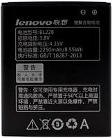 Заводской аккумулятор для Lenovo A588T (BL-228, 2250mAh)