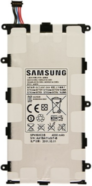 Заводской аккумулятор для планшета Samsung Galaxy Tab 3 T210 (P3200, 4000mah)