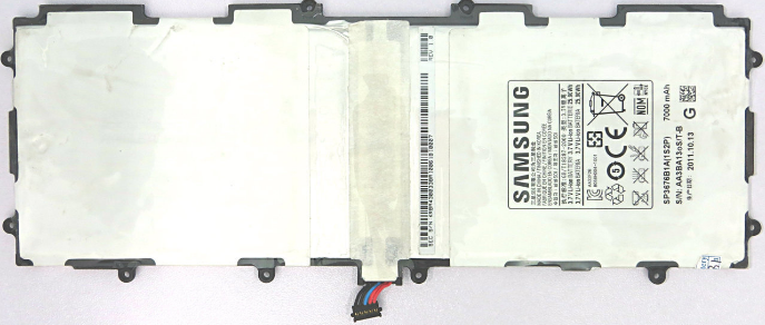 Заводской аккумулятор для планшета Samsung Galaxy Note 10.1 N8000 (SP3676B1A, 7000mah)
