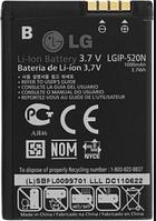 Заводской аккумулятор для LG IP-520N (BL40, 1000mAh)