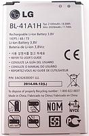 Заводской аккумулятор для LG D390N (BL-41A1H, 2100mAh)