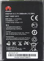 Заводской аккумулятор для HUAWEI Ascend E5372T (HB5F3H-12, 3560mAh)