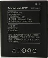 Заводской аккумулятор для Lenovo A8 A808T (BL229, 2500mAh)