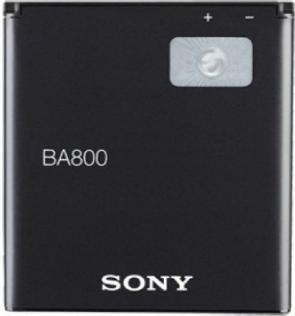 Заводской аккумулятор для Sony Xperia SL LT26i (BA800, 1700mAh)