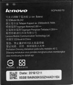 Заводской аккумулятор для Lenovo A6000 Plus (BL-242 , 2300mAh)