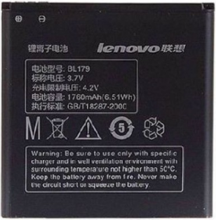 Заводской аккумулятор для Lenovo S760 (BL-179, 1760mAh)