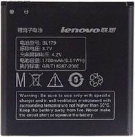 Заводской аккумулятор для Lenovo A520 (BL-179, 1760mAh)
