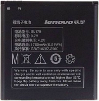 Заводской аккумулятор для Lenovo A698t (BL-179, 1760mAh)