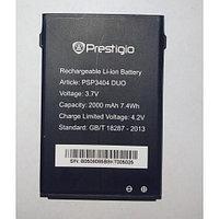 Заводской аккумулятор для Prestigio MultiPhone 3404 Duo (PAP3404 Duo, 2000mah)