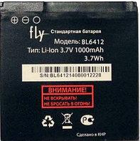 Заводской аккумулятор для Fly IQ434 (BL6412, 1000 mah)