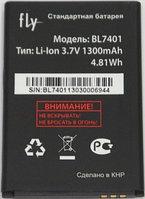 Заводской аккумулятор для Fly IQ238 (BL7401, 1300 mah)