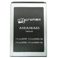 Заводской аккумулятор для Micromax A36 (1500 мАч)