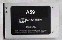 Заводской аккумулятор для Micromax A59 (1500 мАч)