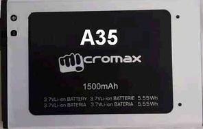 Заводской аккумулятор для Micromax A35 Bolt (1500 мАч)