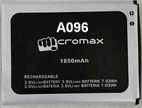 Заводской аккумулятор для Micromax A096 (1850 мАч)