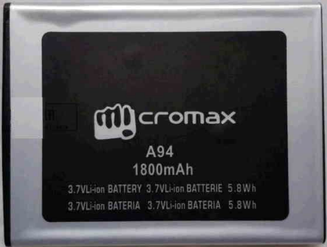 Заводской аккумулятор для Micromax A94 Canvas Mad (1800 мАч)