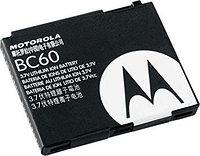 Заводской аккумулятор для Motorola V3x (BC60, 1000mah)