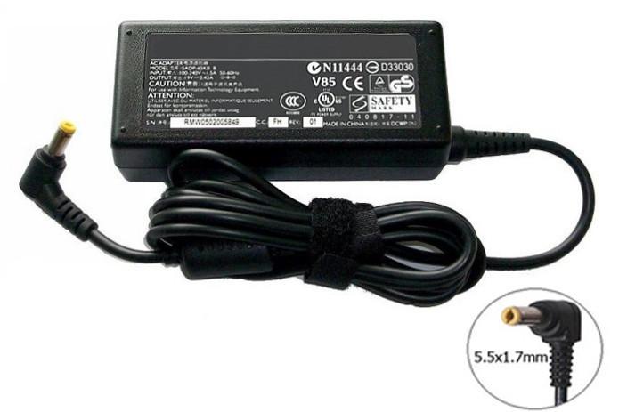 Блок питания для ноутбука Packard Bell 19V 3.42A 65W 5.5x1.7mm