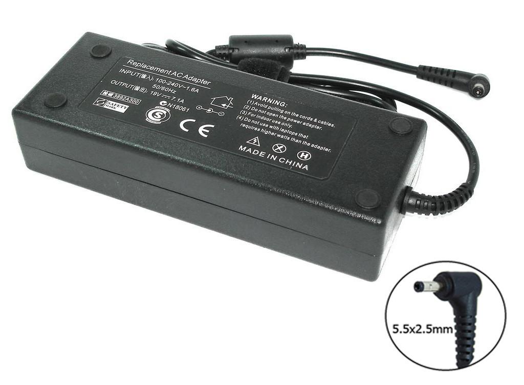 Блок питания для ноутбука Asus 19V 7.1A 135W 5.5x2.5mm