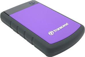 Внешний жесткий диск HDD Transcend 2.5 1TB TS1TSJ25H3P