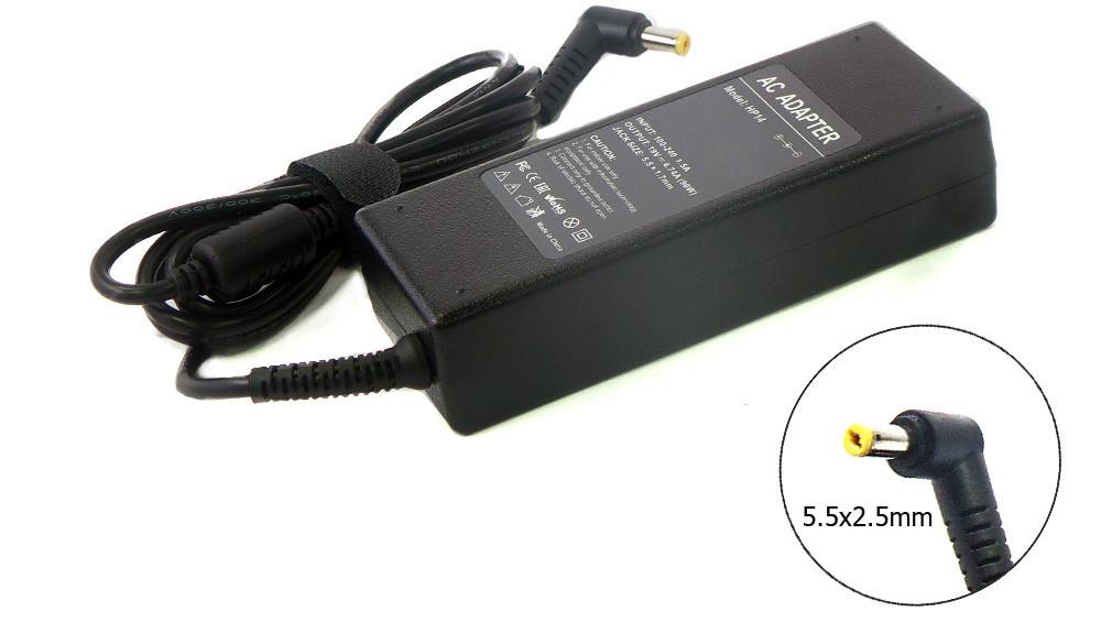 Блок питания для ноутбука Fujitsu-Siemens 20V 4.5A 90W 5.5x2.5mm