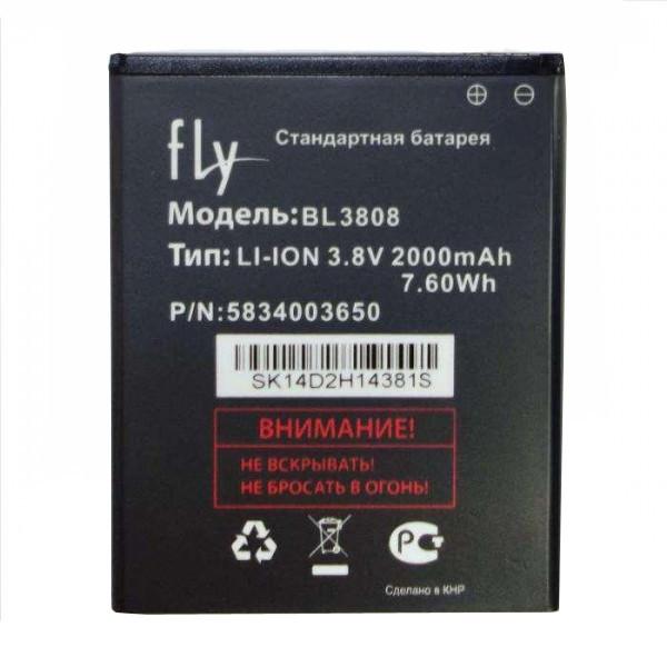 Заводской аккумулятор для Fly IQ456 (BL3808, 2000 mah)