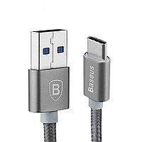 Type-C кабель Baseus Sharp Series для Google Nexus 5X (серый)
