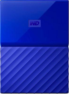 Внешний жесткий диск HDD Western Digital, My Passport, WDBBEX0010BBL-EEUE 2.5 1TB