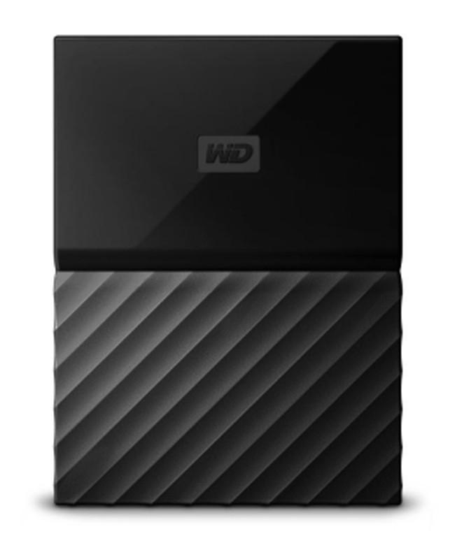 Внешний жесткий диск HDD Western Digital, My Passport, WDBUAX0020BBK-EEUE 2.5 2TB