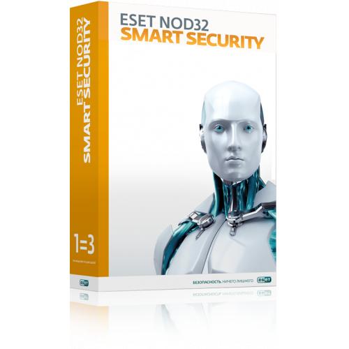 Антивирус ESET NOD32 Smart Security Family - лицензия 1 год или 20 месяцев, 3ПК (NOD32-ESM-1220(BOX)