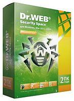 Антивирус Dr.Web Security Space 2 ПК 1 год + 1 месяц в подарок