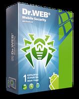Антивирус Dr.Web Mobile Security 1 устройство, 1 год + 6 месяцев комплексной защиты ПК
