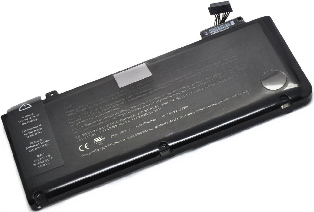 Аккумулятор для ноутбука Apple Macbook Pro 13 A1322 (10.95V 5800 mAh)