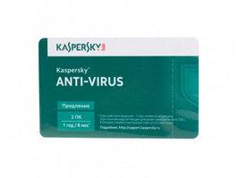 Карта продления Антивирус Kaspersky Anti-Virus 2017, Renewall Card, 2 ПК лицензия 1 год (KL1171LOBFR)