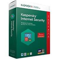 Антивирус Kaspersky Internet Security 2017 Box 3 ПК Базовая, лицензия 1 год (KL1941N3Box17S)