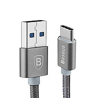 Type-C кабель Baseus Sharp Series для One Plus Two (серый)