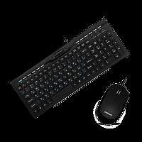 Комплект клавиатура и мышь Crown CMMK-855