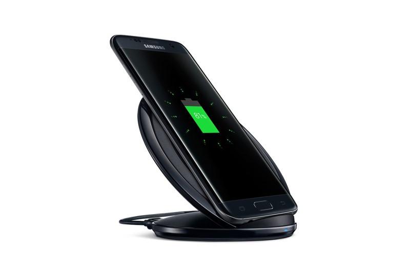 Беспроводное зарядное устройство Samsung EP-NG930 для Samsung Galaxy S8 Plus G955F (черный) - фото 2