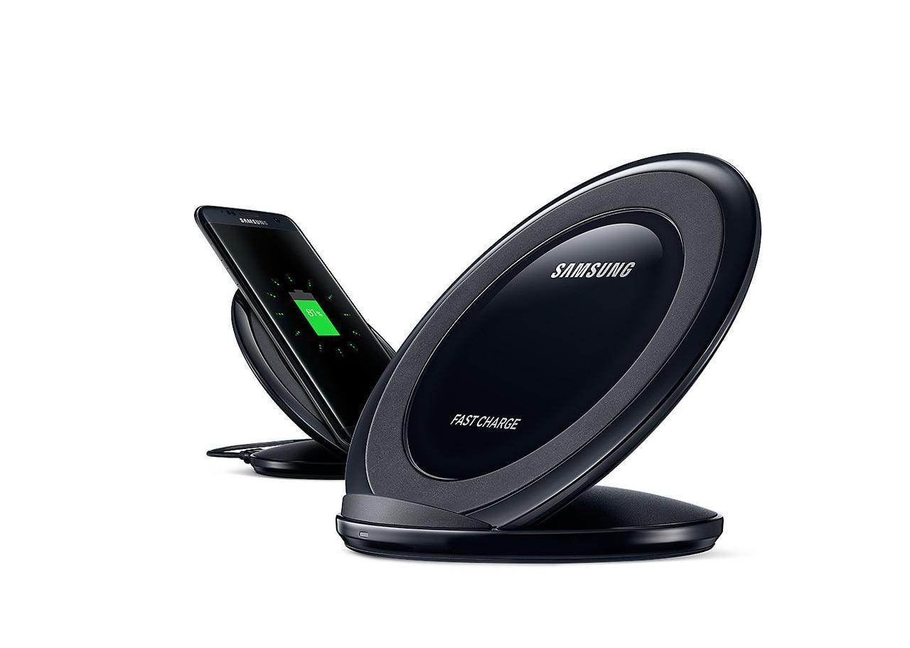 Беспроводное зарядное устройство Samsung EP-NG930 для Samsung Galaxy S8 Plus G955F (черный) - фото 7